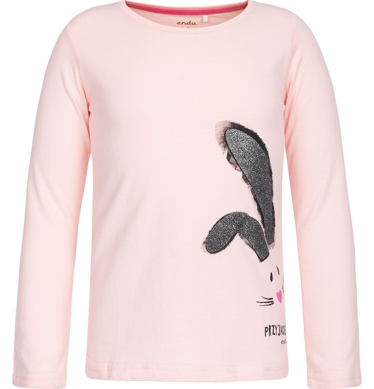 Endo - T-shirt z długim rękawem dla dziewczynki 3-8 lat D82G096_1