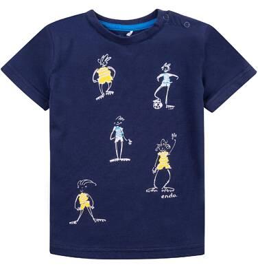 Endo - Bluzka z krótkim rękawem  dla dziecka 0-3 lat N71G068_1