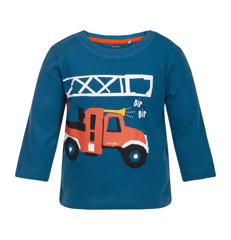 Endo - T-shirt z długim rękawem dla dziecka 0-3 lata N82G011_1