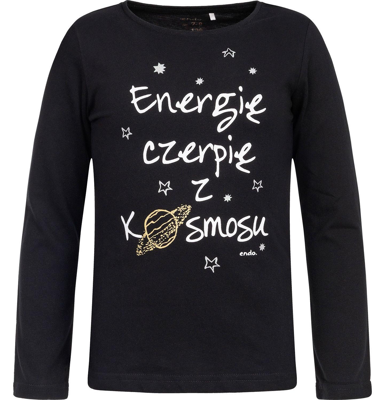 Endo - T-shirt z długim rękawem dla dziewczynki 3-8 lat D82G097_1
