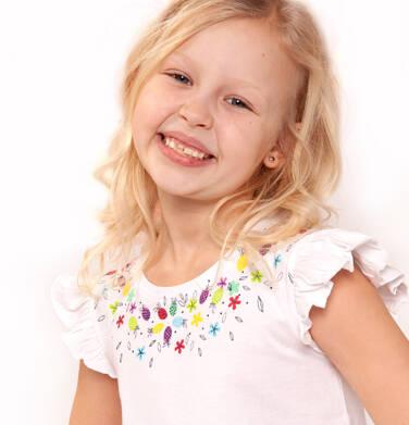 Endo - Bluzka z krótkim rękawem dla dziewczynki 9-13 lat D91G537_3