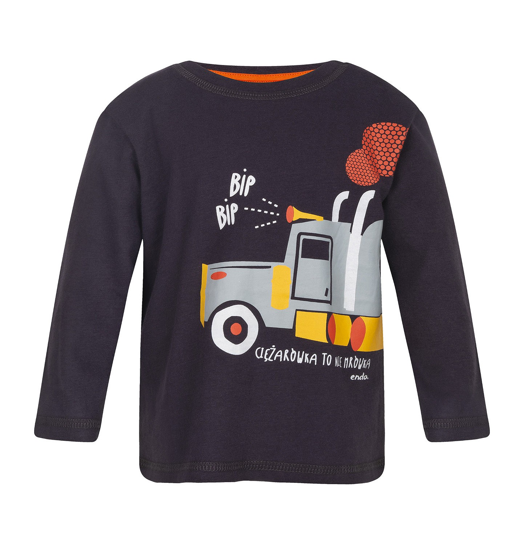 Endo - T-shirt z długim rękawem dla dziecka 0-3 lata N82G012_1