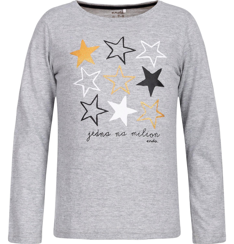 Endo - T-shirt z długim rękawem dla dziewczynki 3-8 lat D82G098_1