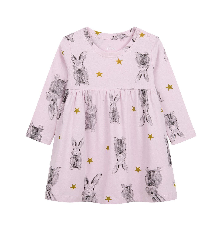 Endo - Sukienka dla dziecka do 2 lat, deseń w zające N04H015_1