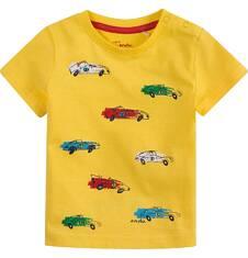 Bluzka z krótkim rękawem  dla dziecka 0-3 lat N71G094_1