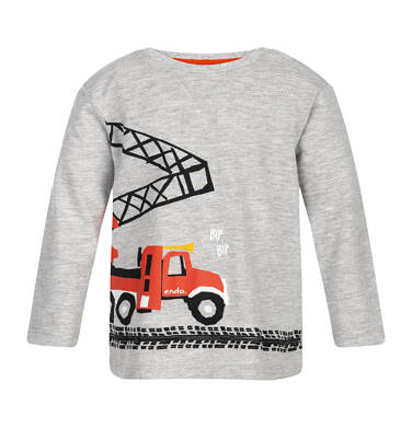 Endo - T-shirt z długim rękawem dla dziecka 0-3 lata N82G013_1