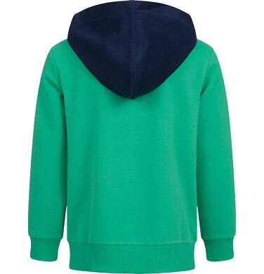Endo - Bluza z kapturem dla chłopca, zielona, 9-13 lat C04C003_1 14
