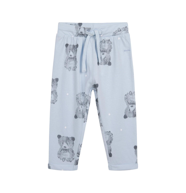 Endo - Spodnie dresowe dla dziecka do 2 lat, niebieskie N04K014_1
