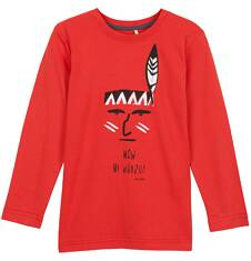 T-shirt z długim rękawem dla chłopca 3-8 lat C62G067_1