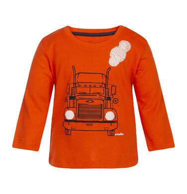 Endo - T-shirt z długim rękawem dla dziecka 0-3 lata N82G014_1
