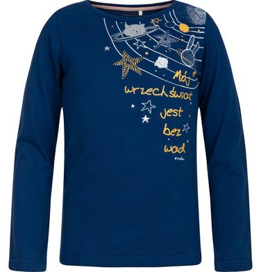 Endo - T-shirt z długim rękawem dla dziewczynki 3-8 lat D82G101_1