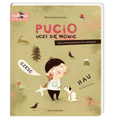 Endo - Pucio uczy się mówić. Zabawy dźwiękonaśladowcze dla najmłodszych BK92208_1