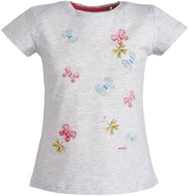 Endo - Bluzka z krótkim rękawem dla dziewczynki 3-8 lat D81G144_1