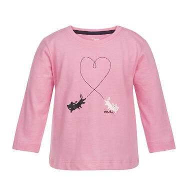 Endo - T-shirt z długim rękawem dla dziecka 0-3 lata N82G026_1