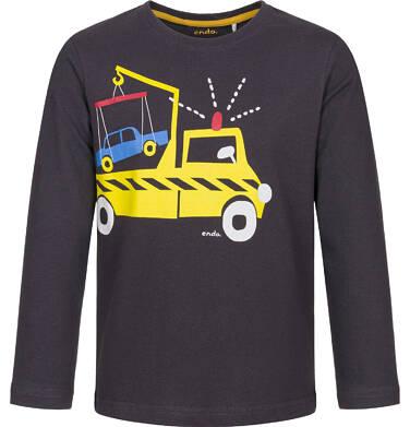 Endo - T-shirt z długim rękawem dla chłopca 3-8 lat C92G055_1
