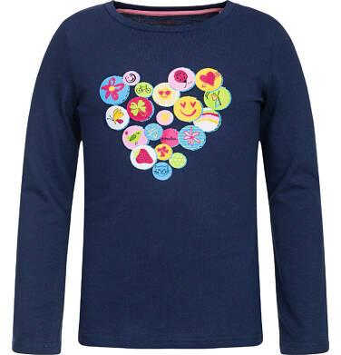 Endo - T-shirt z długim rękawem dla dziewczynki 3-8 lat D82G133_1