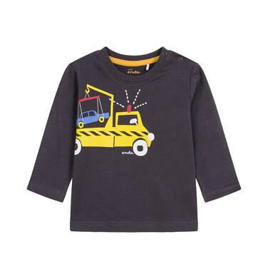 T-shirt z długim rękawem dla dziecka 0-3 lata N92G046_1