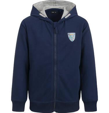 Bluza z kapturem dla chłopca, granatowa, 9-13 lat C04C026_1
