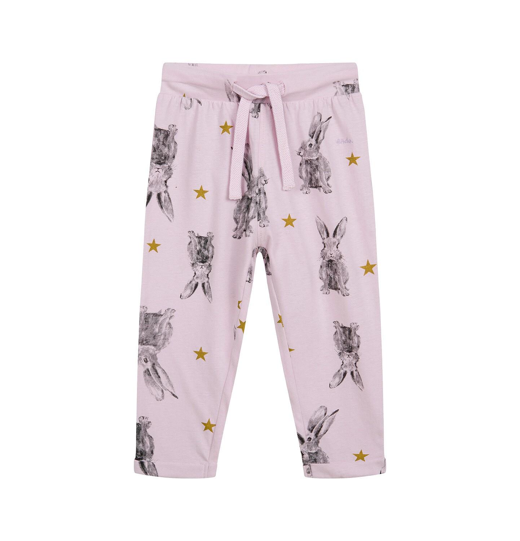 Endo - Spodnie dresowe dla dziecka do 2 lat, różowe N04K026_1