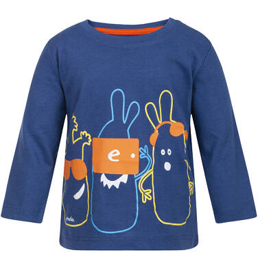 Endo - T-shirt z długim rękawem dla dziecka 0-3 lata N82G050_1