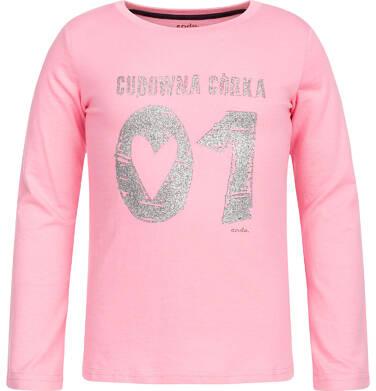 Endo - T-shirt z długim rękawem dla dziewczynki 3-8 lat D82G134_1