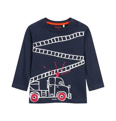T-shirt z długim rękawem dla dziecka 0-3 lata N92G049_1