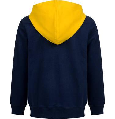 Endo - Bluza z kapturem dla chłopca, z kontrastowym kapturem, granatowa, 9-13 lat C04C045_1 11
