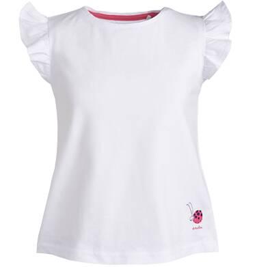 Endo - Bluzka z krótkim rękawem dla dziewczynki 3-8 lat D81G174_2