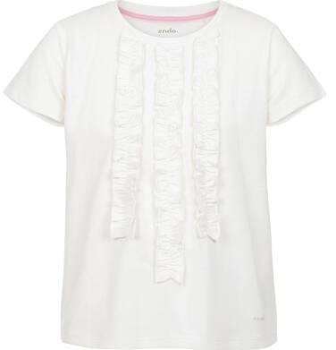 Endo - Bluzka z krótkim rękawem dla dziewczynki 9-13 lat D91G587_1