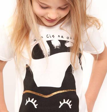 Endo - T-shirt z krótkim rękawem dla dziewczynki 3-8 lat D91G062_1