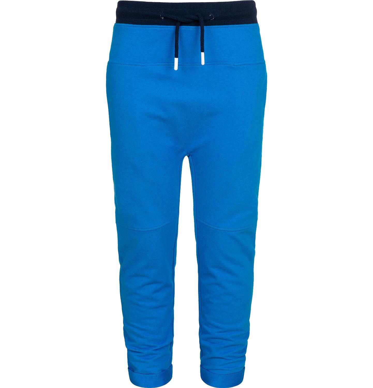 Endo - Spodnie dresowe dla chłopca, z obnizonym krokiem, niebieskie, 2-8 lat C05K026_1