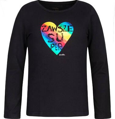 T-shirt z długim rękawem dla dziewczynki 3-8 lat D82G137_1