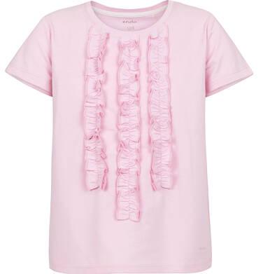 Endo - Bluzka z krótkim rękawem dla dziewczynki 3-8 lat D91G087_2
