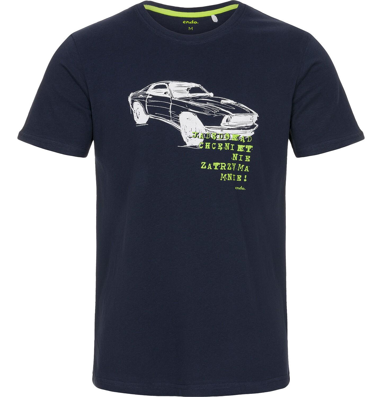 Endo - T-shirt męski z krótkim rękawem Q92G005_1