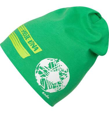 Endo - Czapka dla dziecka, z piłką, zielona C04R025_1 129