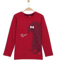 T-shirt z długim rękawem dla chłopca 9-12 lat C62G588_1