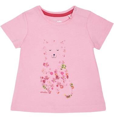 Endo - Bluzka z krótkim rękawem dla dziewczynki 0-3 lata N81G022_1