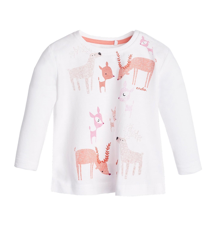 Endo - T-shirt z długim rękawem dla dziecka 0-3 lata N82G035_1