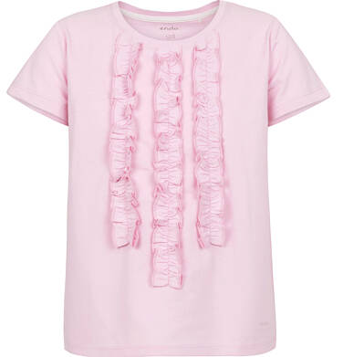 Endo - Bluzka z krótkim rękawem dla dziewczynki 9-13 lat D91G587_2