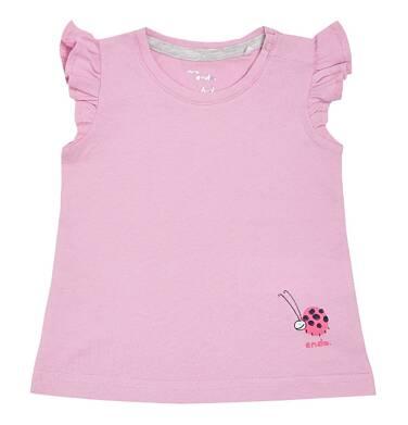 Endo - Bluzka z krótkim rękawem dla dziewczynki 0-3 lata N81G023_1