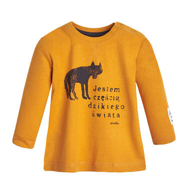 Endo - T-shirt z długim rękawem dla dziecka 0-3 lata N82G042_1