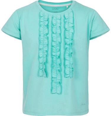 Endo - Bluzka z krótkim rękawem dla dziewczynki 9-13 lat D91G587_3