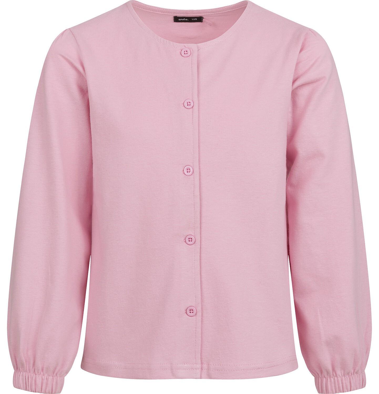 Endo - Bluza rozpinana dla dziewczynki, różowa, 2-8 lat D04C027_1