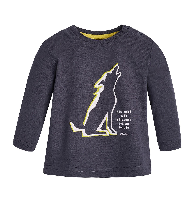 Endo - T-shirt z długim rękawem dla dziecka 0-3 lata N82G043_1