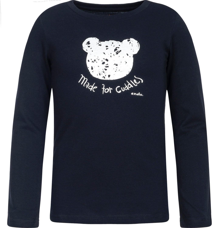 Endo - T-shirt z długim rękawem dla dziewczynki 3-8 lat D82G141_1