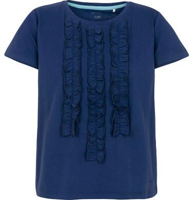 Endo - Bluzka z krótkim rękawem dla dziewczynki 3-8 lat D91G087_4