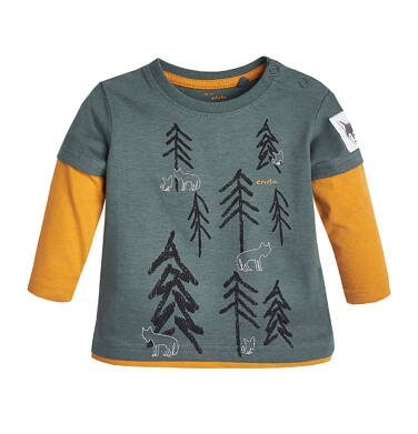 Endo - T-shirt z długim rękawem dla dziecka 0-3 lata N82G044_1