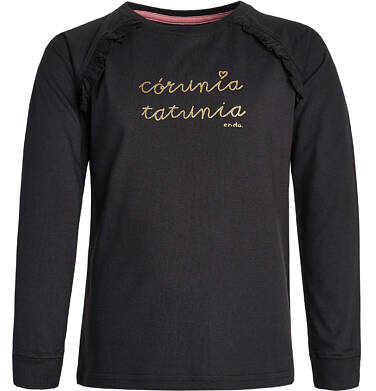 Endo - T-shirt z długim rękawem dla dziewczynki 3-8 lat D82G142_1
