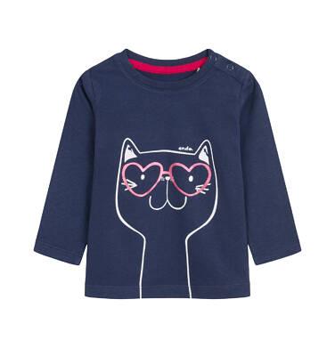 Endo - Bluzka z długim rękawem dla dziecka 0-3 lata N92G039_2