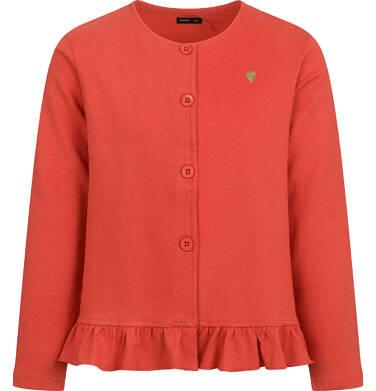 Endo - Bluza rozpinana dla dziewczynki, pomarańczowa, 9-13 lat D04C033_3 35